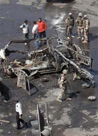 U.S. soldier, six Iraqi civilians killed in Iraq's capital