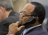 Jurors in the O.J. Simpson case plow through hours of secret recordings