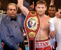 Sultan Ibragimov prepares to fight 'legend'