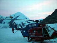 Search started for missing LifeGuard Alaska helicopter