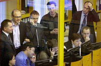 Russian stock exchanges halt trading