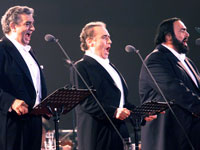 Three Tenors not to replace late Luciano Pavarotti