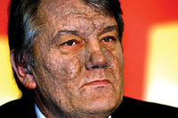Many foodstuffs pose serious health hazard because of dioxin that burnt Yushchenko's face
