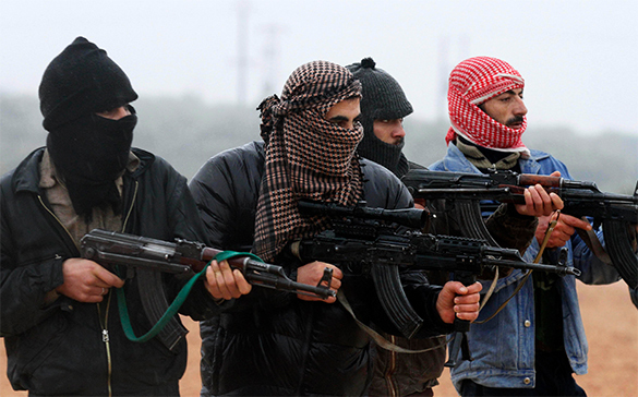 US admits to train militants in Syria this week. Syrian militants