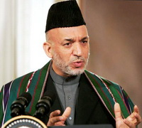 Hamid Karzai Welcomes More American Troops