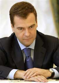 Dmitry Medvedev travels to China