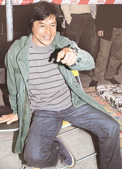 Jackie Chan, other Hong Kong stars to discuss privacy protections