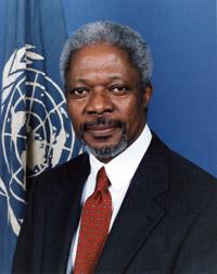 Kofi Annan leaves UN in deep crisis