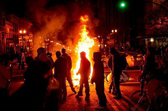 America must let black Americans establish their own 'Palestine'. What is happening in Ferguson?