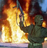 International Terrorism Suffers from World Crisis Too