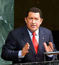 Chavez denounces his ex-defense minister as a traitor