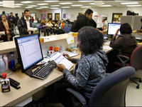 U.S. Officials Try to Solve Health Insurance Problems for Jobless