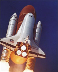 Shuttle Discovery (sci.esa.int)