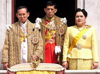 Thailand celebrates king's 80th anniversary dressed in yellow