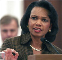 Condoleezza Rice expresses unease over African crisis spots