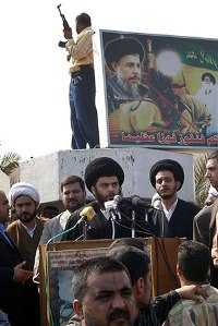 Shiite cleric orders his militiamen to unify against Americans