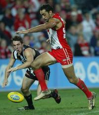 Goodes wins Australian Rules football's top individual award