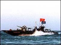 Sri Lankan navy sinks 11 rebel ships, killing about 70