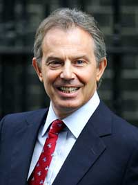 Blair to discuss EU future and constitution with Poland's leaders
