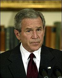 Bush urges Libya to free Bulgarian nurses