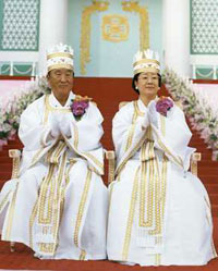 Thousands wed in Korean ceremony