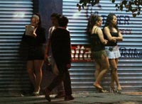 Prostitutes, patrons arrested and on public parade in southern China