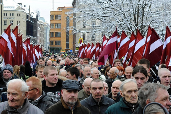 Fascism flourishes in Baltic States as Brussels pretends to be blind. 60173.jpeg