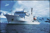 Crewman missing from U.S. research ship in Antarctic area