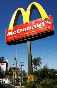 McDonald's sales increase by 6.5 percent, 11.7 percent systemwide in July