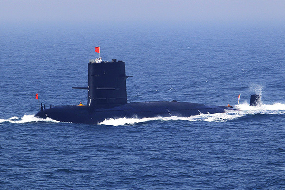 China develops stealthy supersubmarine. Submarine