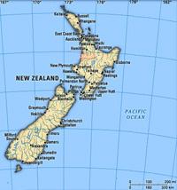Strong earthquake felt  over 700 kilometers north-east of New Zealand