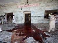 Mosque attacked in Pakistani tribal region during prayers, at least 40 killed. 45175.jpeg