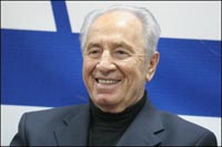 Israeli vice premier Peres calls for united action against Iran