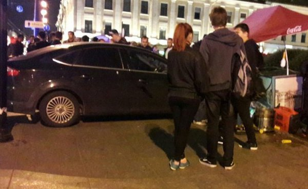 Cars ram into pedestrians in Moscow and St. Petersburg. 61176.jpeg