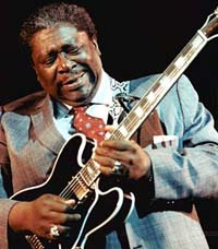 Bluesman B.B. King hospitalized in Texas; hospital official says condition good