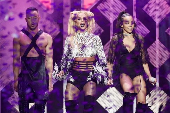 Israeli primaries suspended because of Britney Spears. Britney Spears