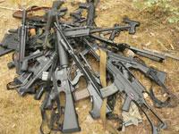Weapons cache found in Denmark