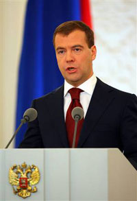 Medvedev Blames Ukraine for Anti-Russian Course