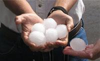 Hailstones detonate undiscovered bomblets in Lebanon