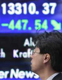 European and Asian markets drop following Wall Street decline