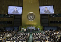 World leaders call for international action to combat global financial crisis