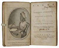 First edition book by Phillis Wheatley purchased by University of South Carolina