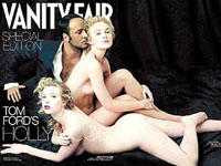 Scarlet Johansson and Keira Knightley strip for Vanity Fair 2006 cover