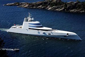 Russian Businessman Proudly Owns World's Coolest Luxury Yacht