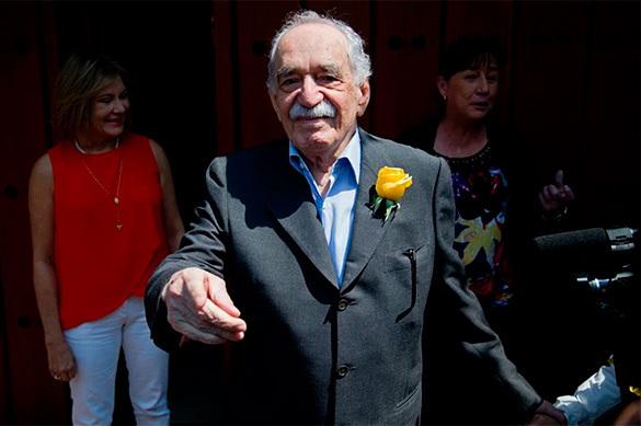 FBI spies on Gabriel García Márquez for 20 years. Marquez