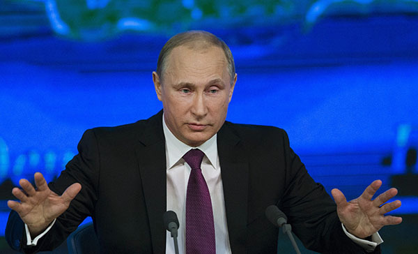 Putin: Whoever wants to kill the Russian bear will fail. Vladimir Putin's press conference