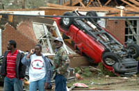 Tornadoes continue to score more victims in USA