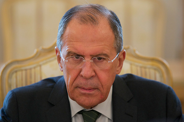 Russian FM Lavrov says Ukraine Freedom Act ruins US-Russian relations for long. Russian Foreign Minister Sergei Lavrov