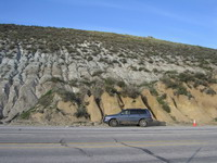 Scientists show first rock samples from borehole in San Andreas Fault in California