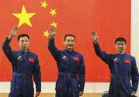China posts article about Chinese space mission before astronauts were launched in space